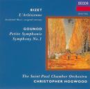ビゼ-/グナ- アルルの女,交響曲 第1/St. Paul Chamber Orchestra, Christopher Hogwood