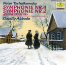 "Tchaikovsky: Symphonies No. 4 & 2 ""Little Russian""/New Philharmonia Orchestra, Wiener Philharmoniker, Claudio Abbado"