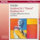 プロコフィエフ:交響曲第5番&第1番「古典」/Los Angeles Philharmonic, André Previn