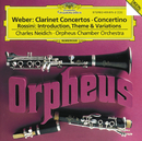 Weber: Clarinet Concertos / Rossini: Introduction, Theme and Variations/Charles Neidich, Orpheus Chamber Orchestra