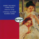 Where the Music Comes From/Cynthia Hayman, Warren Jones