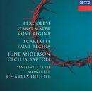 ペルゴレージ:「スターバト・マーテル」「サルヴェ・レジーナ」/June Anderson, Cecilia Bartoli, Sinfonietta de Montréal, Charles Dutoit