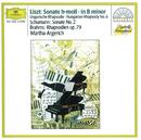 リスト:ピアノ・ソナタ/ハンガリ-狂詩曲/Martha Argerich