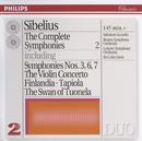 Sibelius: The Complete Symphonies, etc., Vol.2 (2 CDs)/Salvatore Accardo, Boston Symphony Orchestra, London Symphony Orchestra, Sir Colin Davis