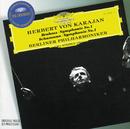 ブラームス&シューマン:交響曲第1番/Michel Schwalbé, Berliner Philharmoniker, Herbert von Karajan