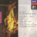 Bach, J.S.: Johannes-Passion (2 CDs)/Sir Peter Pears, Wandsworth School Boys Choir, English Chamber Orchestra, Benjamin Britten