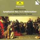 メンデルスゾーン:交響曲第1/5番、他/London Symphony Orchestra, Claudio Abbado