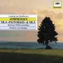 """Beethoven: Symphony No.6 op.68 """"pastorale""""; no.8 op.93/Berliner Philharmoniker, Herbert von Karajan"""