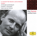 Henze: Concerto No. 2; Tristan; 2 Ballet Variations; 3 Tientos/Christoph Eschenbach, Homero Francesch, Siegfried Behrend, Hans Werner Henze, Ferenc Fricsay
