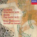 ベートーヴェン:弦楽四重奏曲第11番、ブラームス:ピアノ四重奏曲第1番/Wiener Philharmoniker, Christoph von Dohnányi
