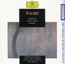 G. Fauré: Requiem op.48 / Dolly Suite op.56 / Pavane op.50/Philharmonia Orchestra, Carlo Maria Giulini, Boston Symphony Orchestra, Seiji Ozawa