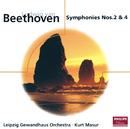 Beethoven: Symphonies Nos.2 & 4/Gewandhausorchester Leipzig, Kurt Masur