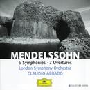 メンデルスーン:交響曲・序曲全集/London Symphony Orchestra, Claudio Abbado