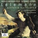 テレマン:弦楽のための協奏曲集/Musica Antiqua Köln, Reinhard Goebel