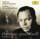 シューベルト:歌曲<白鳥の歌>/ブラームス:<厳粛な詩>/Thomas Quasthoff, Justus Zeyen