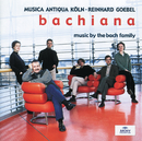 Bachiana I - Music by the Bach Family/Musica Antiqua Köln, Reinhard Goebel