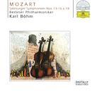 Mozart: Symphonies Nos. 13-16, 18/Berliner Philharmoniker, Karl Böhm