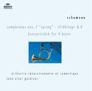 Schumann: Symphonies Nos.1 & 4; Konzertstück for 4 Horns/Orchestre Révolutionnaire et Romantique, John Eliot Gardiner