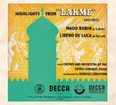 ドリーブ:カゲキ ラクメ ハイライ/Mado Robin, Libero De Luca, Choeur de l'Opéra-Comique, Paris, Orchestre de l'Opéra-Comique, Paris, Georges Sebastian