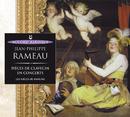 Rameau: Pièces de clavecin en concert/Ensemble Les Nieces De Rameau, Marianne Muller, Alice Pierot, Aline Zylberajch, Florence Malgoire