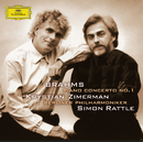 ブラームス:ピアノ協奏曲第1番/Krystian Zimerman, Berliner Philharmoniker, Simon Rattle