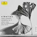 シベリウス:ヴァイオリン協奏曲、交響曲第2番/Berliner Philharmoniker, James Levine