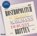 シューベルト・シューマン・ドビュッ/Mstislav Rostropovich, Benjamin Britten