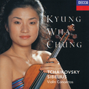 Tchaikovsky: Violin Concerto / Sibelius: Violin Concerto/Kyung Wha Chung, London Symphony Orchestra, André Previn