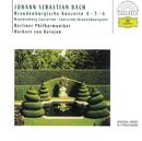 Bach, J.S.: Brandenburg Concertos Nos.4, 5 & 6/Berliner Philharmoniker, Herbert von Karajan