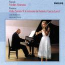 フランク&プーランク:ヴァイオリン・ソナタ集/Lola Bobesco