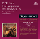 Bach, C.P.E.: The Symphonies for Strings/The English Concert, Trevor Pinnock