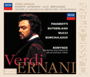 ヴェルディ:エルナーニ ゼンキョク/Luciano Pavarotti, Dame Joan Sutherland, Orchestra of the Welsh National Opera, Richard Bonynge