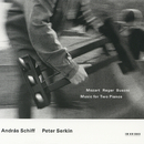 2台のピアノのための作品集(モーツァルト、レーガー他)シフ&ゼルキン/András Schiff, Peter Serkin