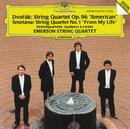 """Dvorák: String Quartet No.12 """"American"""" / Smetana: String Quartet No.1 """"From My Life""""/Emerson String Quartet"""