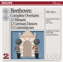 Beethoven: Complete Overtures / 12 Minuets / 12 German Dances, etc. (2 CDs)/Gewandhausorchester Leipzig, Kurt Masur, Academy of St. Martin in the Fields, Sir Neville Marriner