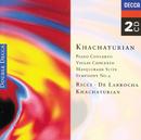 ハチャトリアン:ピアノ協奏曲/ヴァイオリン協奏曲/交響曲、他/Aram Il'yich Khachaturian, Anatole Fistoulari, Stanley Black, Rafael Frühbeck de Burgos