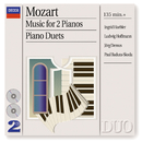 Mozart: Music for 2 Pianos; Piano Duets (2 CDs)/Jörg Demus, Ingrid Haebler, Ludwig Hoffmann, Paul Badura-Skoda