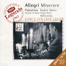 Allegri: Miserere / Palestrina: Stabat Mater/The Choir of King's College, Cambridge, Sir David Willcocks