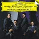 ヴェーベルン:弦楽三重奏、四重奏のための作品集/Emerson String Quartet, Mary Ann McCormick
