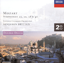 Mozart: Symphonies Nos. 25, 29, 38 & 40 etc. (2 CDs)/English Chamber Orchestra, Benjamin Britten