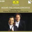 モーツァルト:ヴァイオリン協奏曲第1~5番/Wiener Philharmoniker, James Levine
