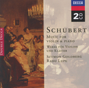 Schubert: Music for Violin & Piano; Arpeggione Sonata (2 CDs)/Szymon Goldberg, Radu Lupu, Maurice Gendron, Jean Françaix