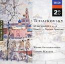 Tchaikovsky: Symphonies Nos. 4-6; Hamlet Overture (2 CDs)/Wiener Philharmoniker, Lorin Maazel