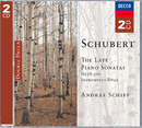 Schubert: The Late Piano Sonatas/András Schiff