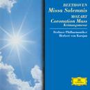 Beethoven: Missa Solemnis / Mozart: Coronation Mass/Berliner Philharmoniker, Herbert von Karajan