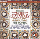 ロドリーゴ:アランフエイス協奏曲/Pepe Romero, Academy of St. Martin in the Fields, Sir Neville Marriner