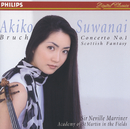 諏訪内晶子/デビュー(ブルッフ:ヴァイオリン協奏曲 第1番、他)/Akiko Suwanai, Academy of St. Martin in the Fields, Sir Neville Marriner