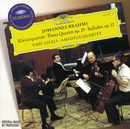 ブラ-ムス:ピアノ四重奏曲/4つのバラ-ド/Amadeus Quartet, Emil Gilels