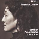 シューベルト:ピアノ・ソナタ第19番・20番/Mitsuko Uchida