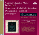 バッハイゼンノドイツシツナイオンカ/Musica Antiqua Köln, Reinhard Goebel